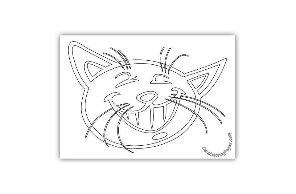 Playful Tomcat Coloring Page