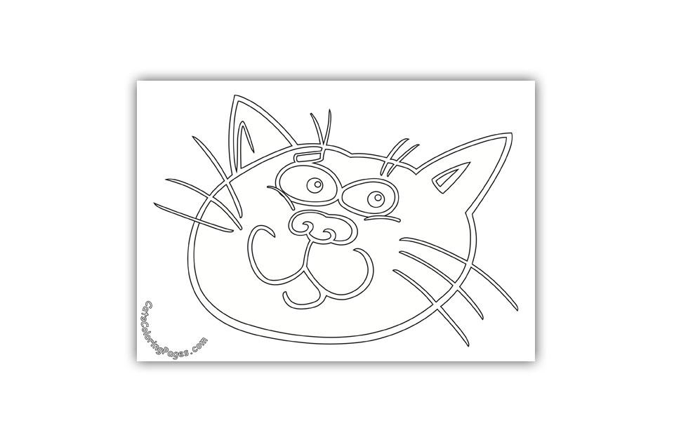 Prankster Tomcat Coloring Page